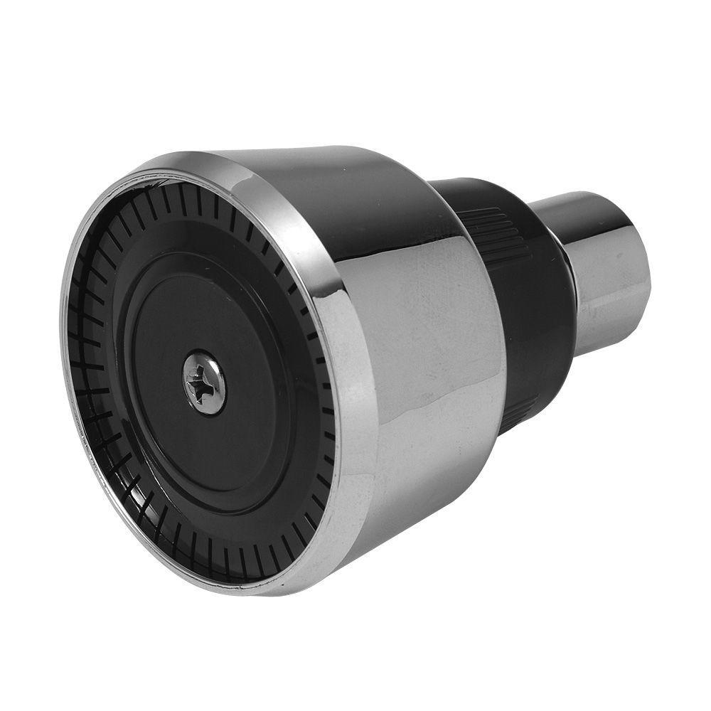 BrassCraft Mixet 1-Spray 3.875 in. Shower Head in Chrome-SWD0419 D ...