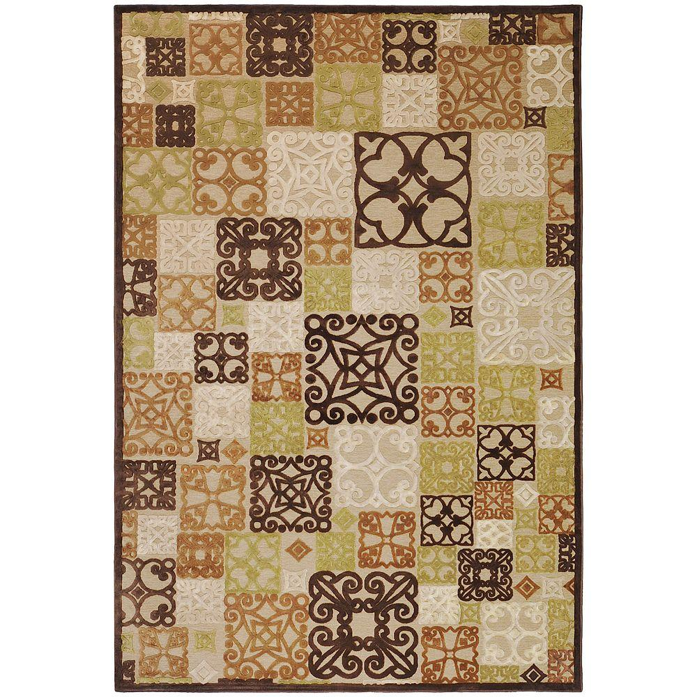 Home Decorators Collection Tyler Natural 4 ft. x 5 ft. 7 in. Area Rug