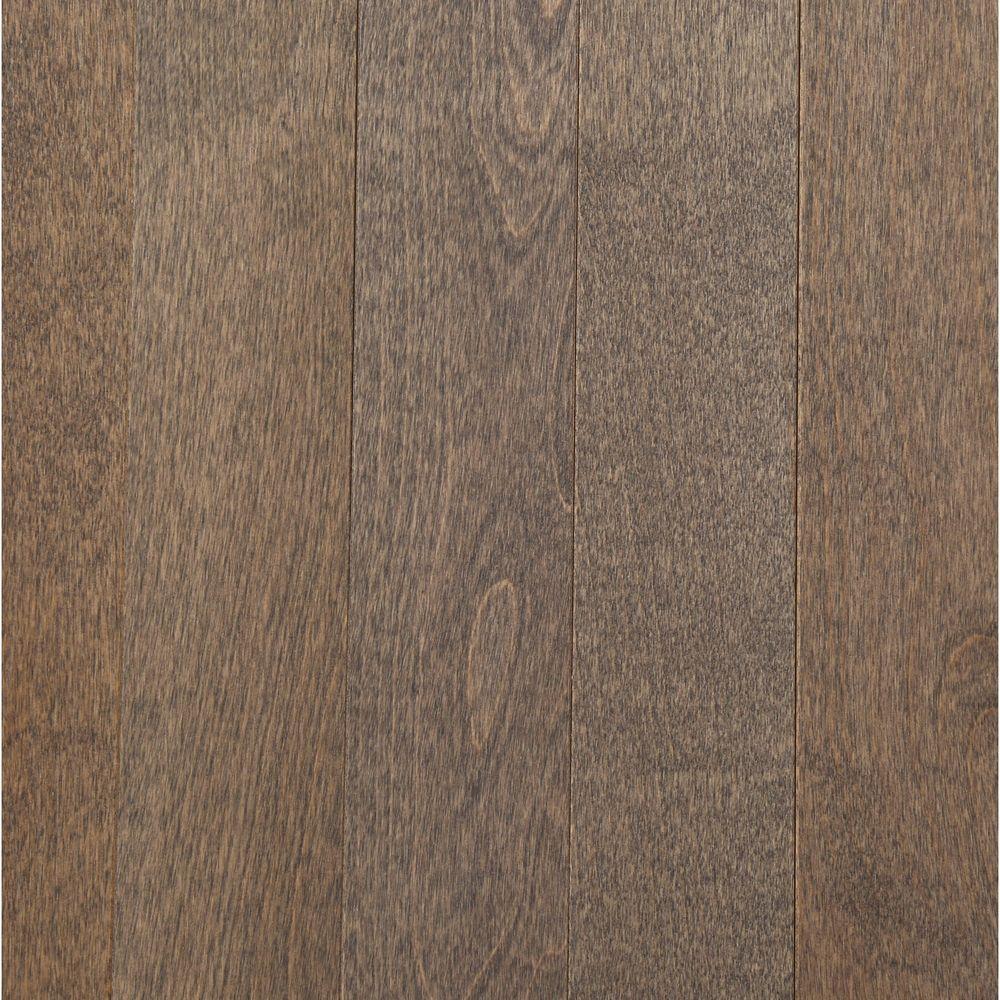 MONO SERRA Take Home Sample - Northern Birch Nickel Solid Hardwood Flooring - 3-1/4 in. x 4 in.
