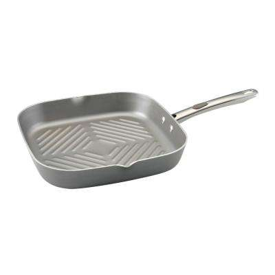Aluminum Grill Pan with Heat Resistant Handles