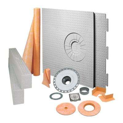 Kerdi Shower 32 In X 60 Off Center Kit
