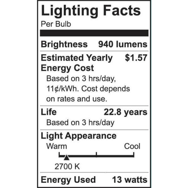 Green deals free tesla ebook 4 pack of ecosmart 75w equiv times more efficient than incandescent fandeluxe PDF