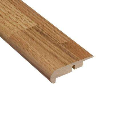 Cottage Chestnut 7/16 in. Thick x 2-1/4 in. Wide x 94 in. Length Laminate Stairnose Molding
