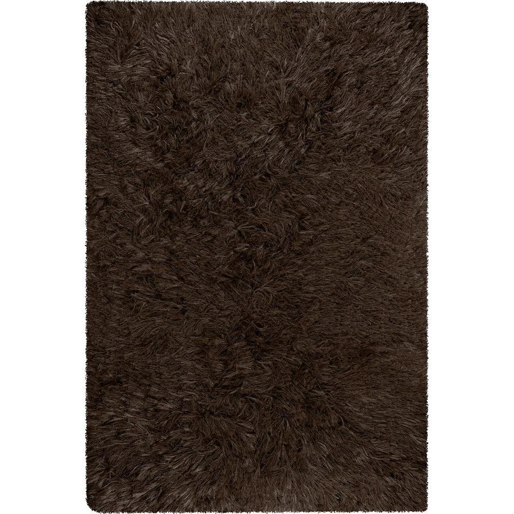 Chandra Celecot Dark Brown 5 ft. x 7 ft. 6 in. Indoor Area Rug