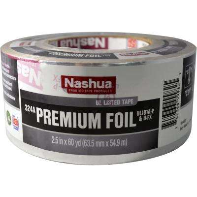 2.5 in. x 60 yd. 324A Premium Foil UL Listed HVAC Tape