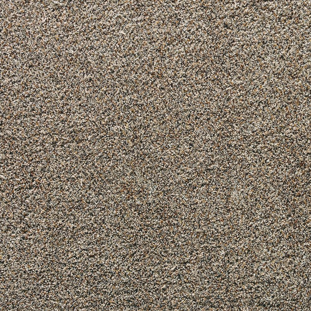 LifeProof Playful Moments II - Ash Grey Textured Multi 12 ft. Carpet