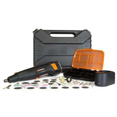 Variable Speed Cordless Rotary Tool Kit with 50-Piece Accessory Set