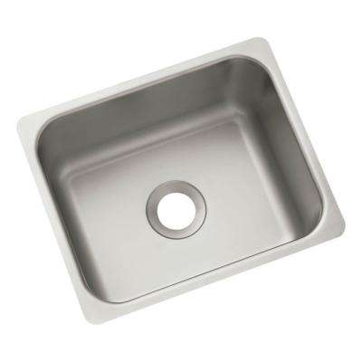 13 in. x 10-11/16 in. x 6 in. Stainless Steel Self-Rimming Specialty Sink (6-Pack)