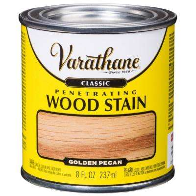 8 oz. Golden Pecan Classic Wood Interior Stain (4-Pack)