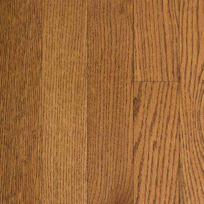 Oak Honey Wheat 3/4 in. Thick x 5 in. Wide x Random Length Solid Hardwood Flooring (21 sq. ft. / case)