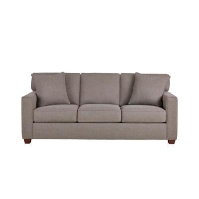 Woodfield Acuff Charcoal Gray Straight Standard Sofa (83.5 in. W x 37 in. H)