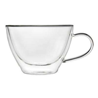 11 oz. Doublewall Cappuccino Glass Coffee Mug