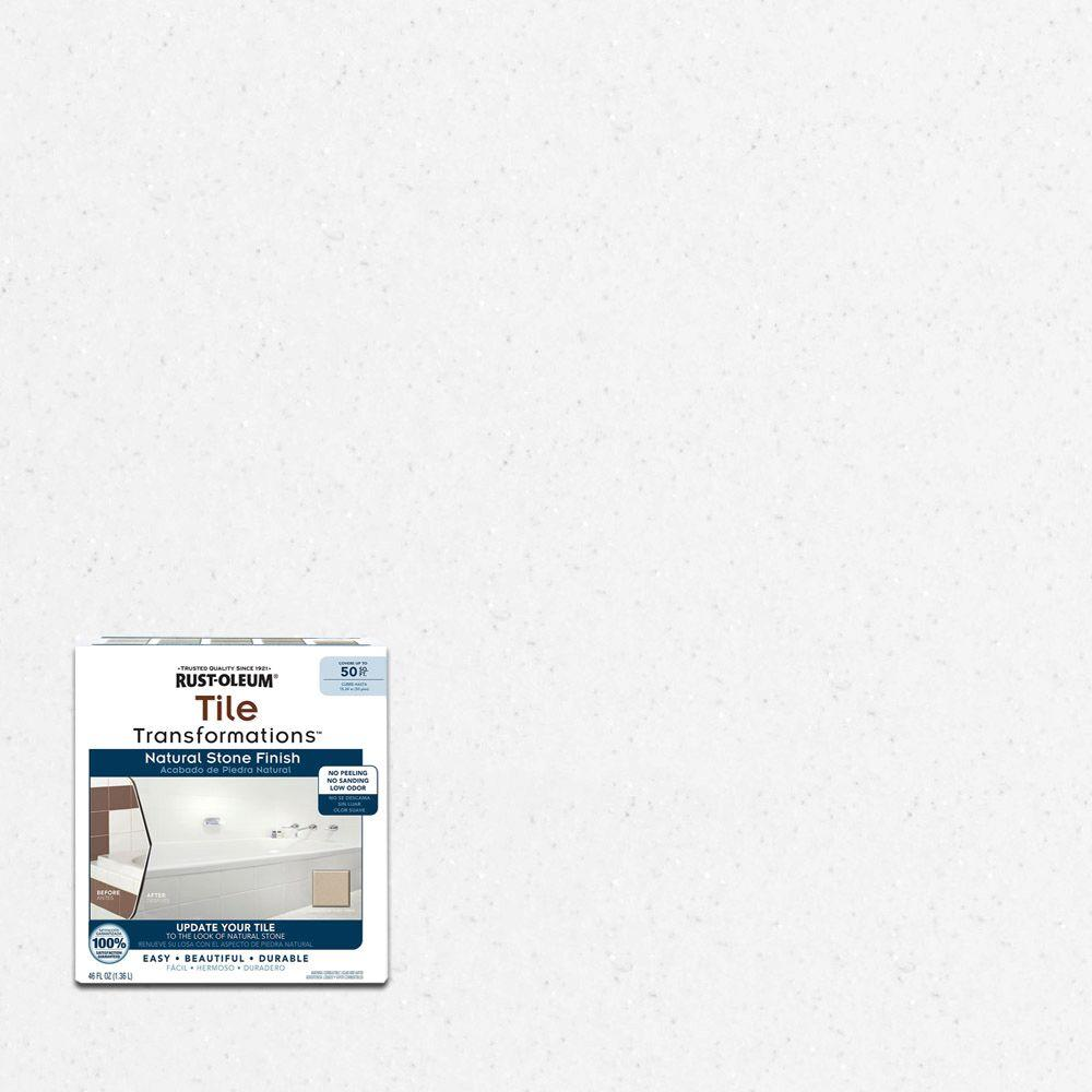 Rust-Oleum Transformations 46 oz. White Interior Tile Finish Kit ...