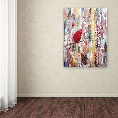 """32 in. x 24 in. """"Re?ver Le Temps"""" by Sylvie Demers Printed Canvas Wall Art"""
