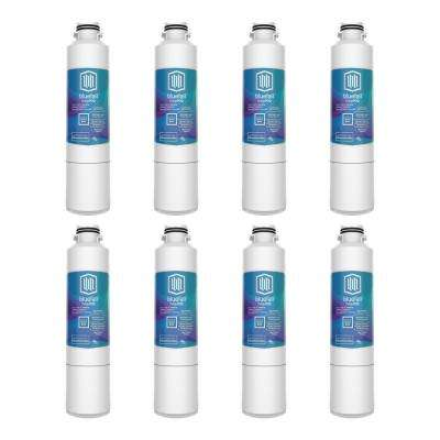 8 Compatible Refrigerator Water Filters Fits Samsung (Value Pack)