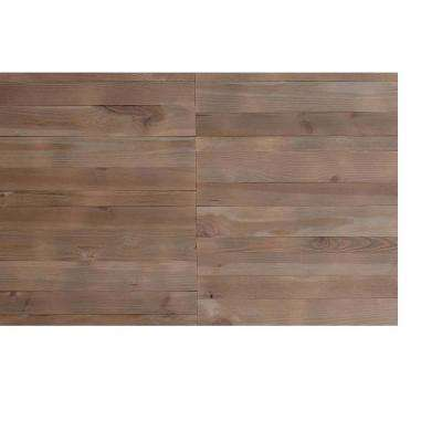 Series 1 1/8 in. x 5 in. x 47 in. Barn Wood ShipLap Planks (20 sq. ft. per 12-Pack)