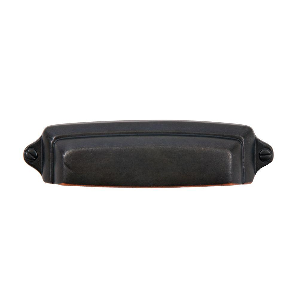 Grayson 2-1/2 in. Oil Rubbed Bronze Cup Pull