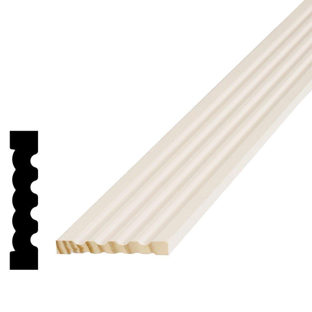 11/16 in. x 3-1/4 in. x 96 in. Pine Primed Finger-Jointed