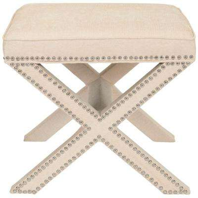 Palmer Taupe Accent Ottoman