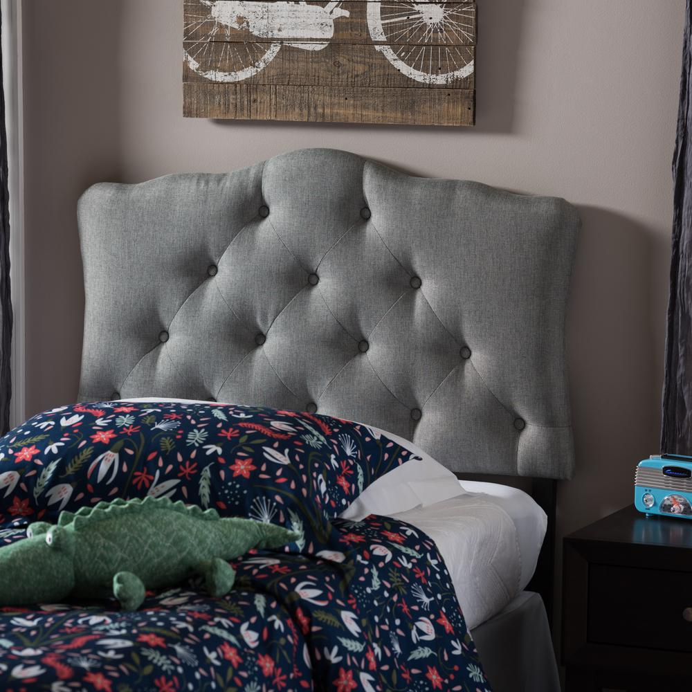 Rita Gray Twin Headboard. Gray   Beds   Headboards   Bedroom Furniture   The Home Depot