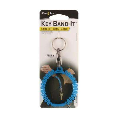 Key Band-It Stretch Wristband in Blue