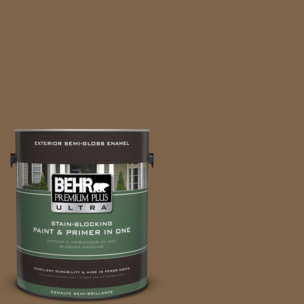1-gal. #PPU4-19 Arts and Crafts Semi-Gloss Enamel Exterior Paint