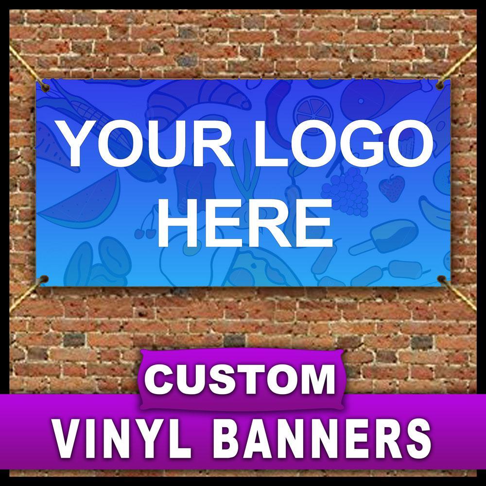 4 ft. x 12 ft. Custom Vinyl Banner