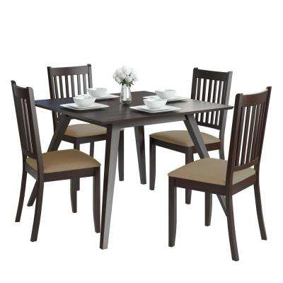 Modern - Square - Solid Wood - Dining Room Sets - Kitchen & Dining ...