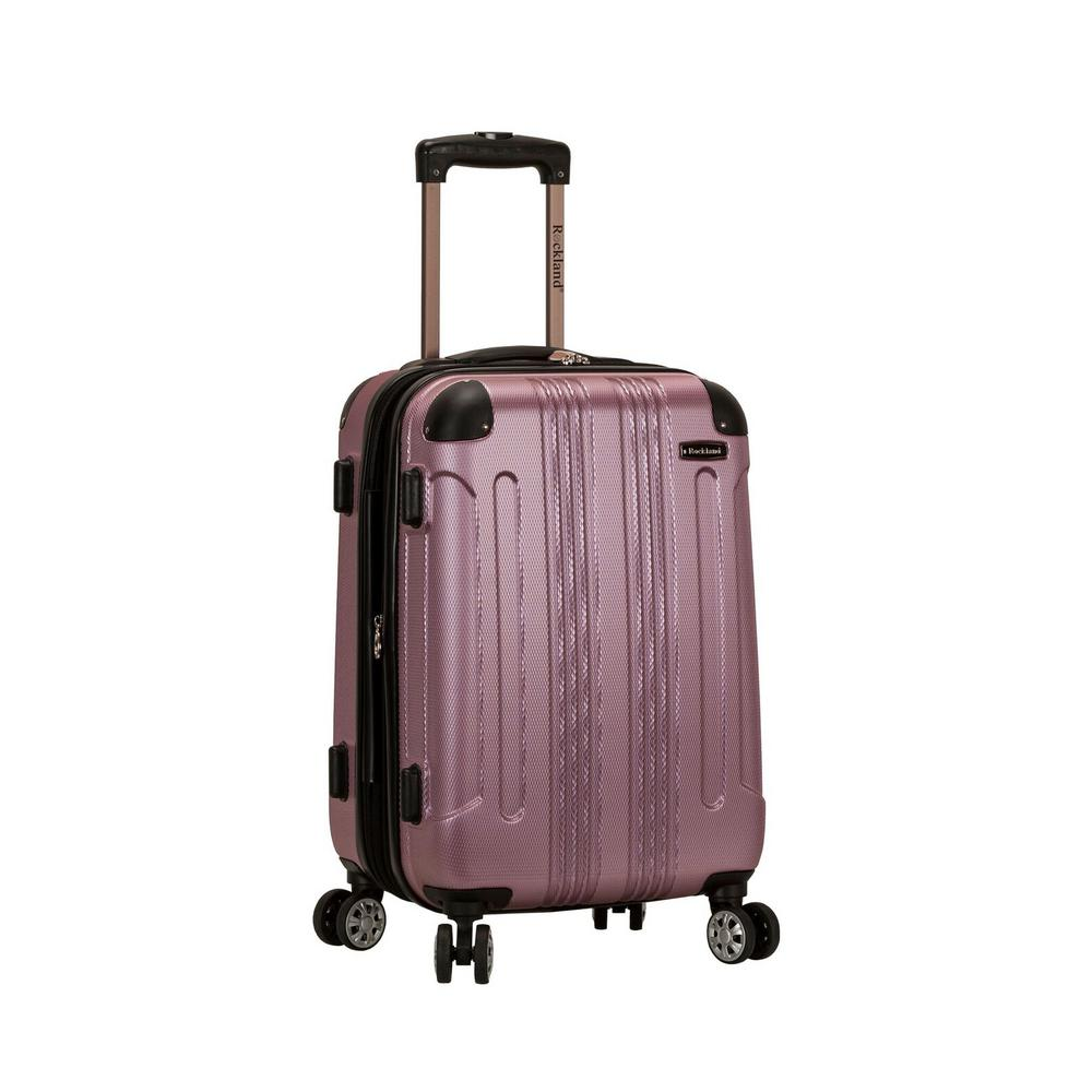 Rockland F1901 Expandable Sonic 20 in. Hardside Spinner Carry On Luggage, Pink was $120.0 now $60.0 (50.0% off)