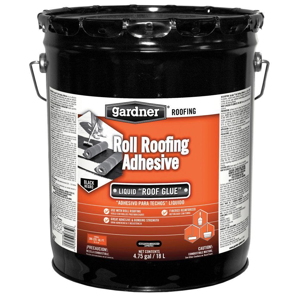 Gardner 4 75 Gal  Roll Roofing Adhesive