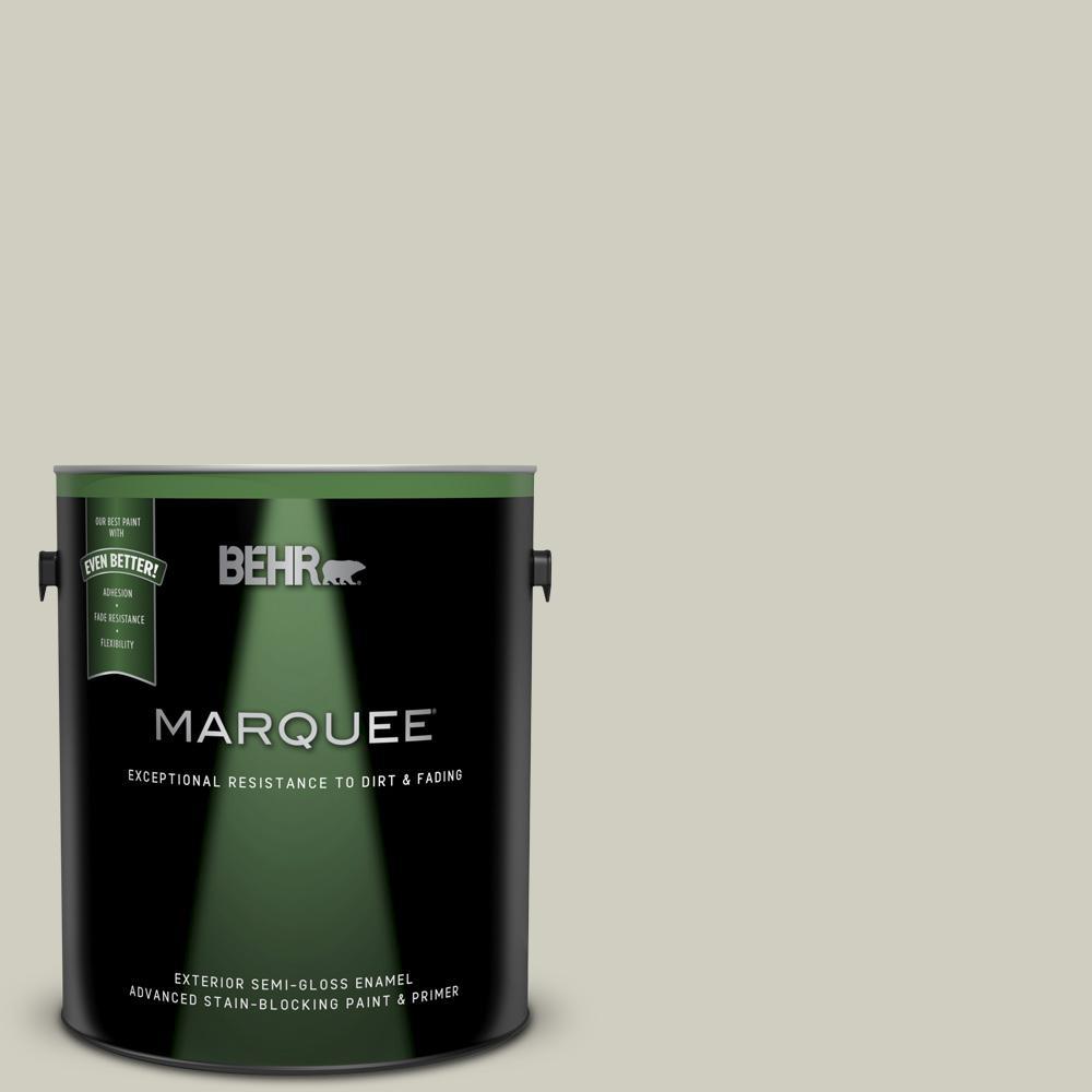 Behr Marquee 1 Gal N350 2 Sawgrass Semi Gloss Enamel
