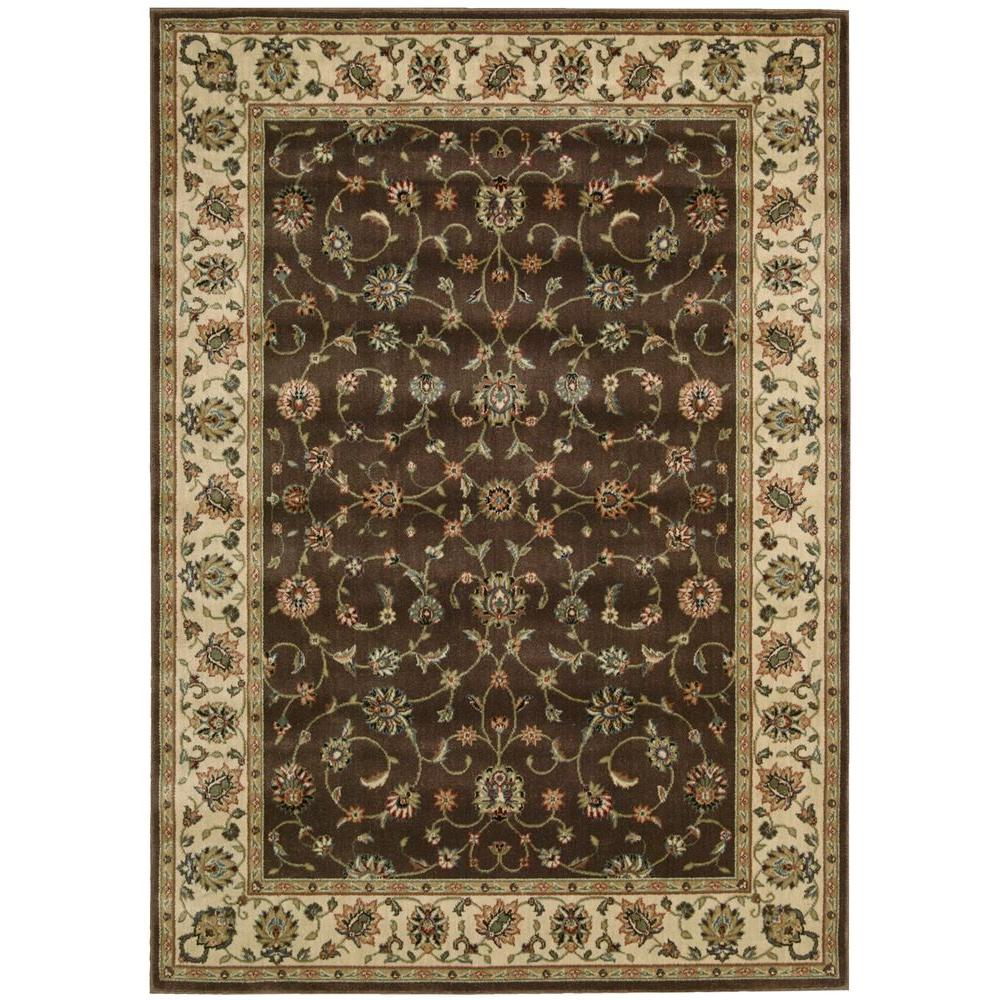 Nourison Persian Arts Marlik Chocolate 2 ft. x 3 ft. 6 in. Accent Rug