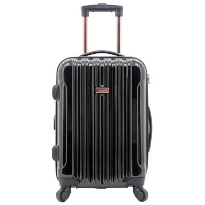 in. Alma in.  Collection 20 in. Hardside Metallic Rolling Carry-on with Spinner Wheels