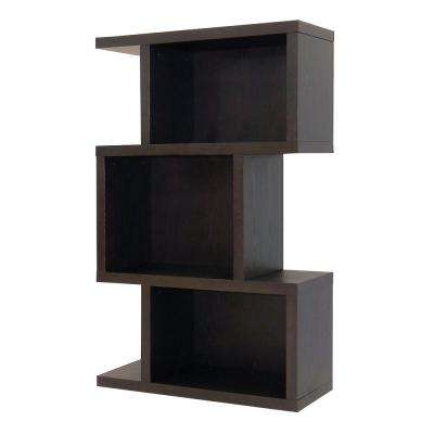 Conrad Dark Birch Open Bookcase