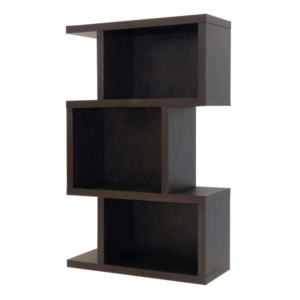 DonnieAnn Conrad Dark Birch Open Bookcase 508950