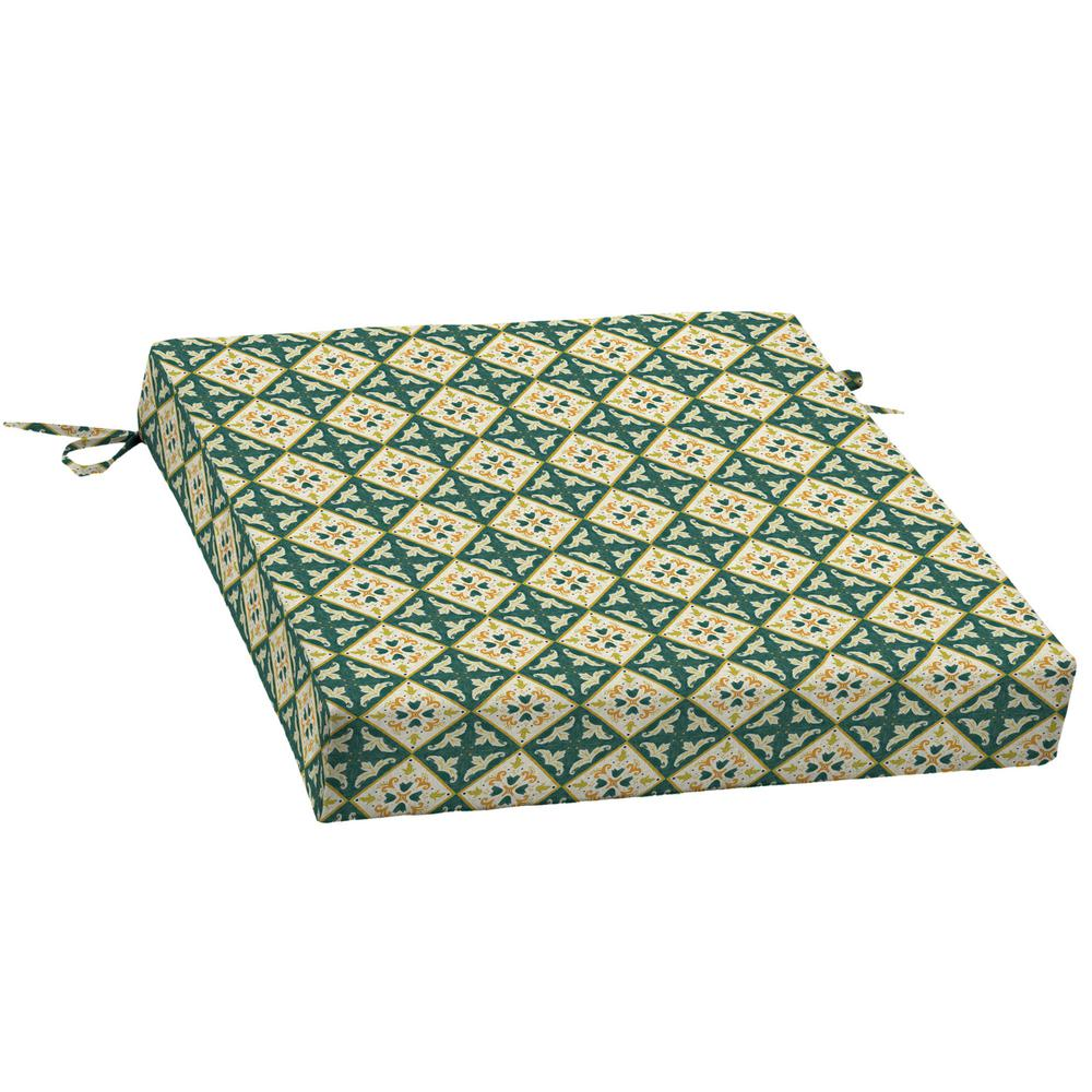 Artisans 21 in. x 21 in. Khalid Moroccan Tile Square Outdoor