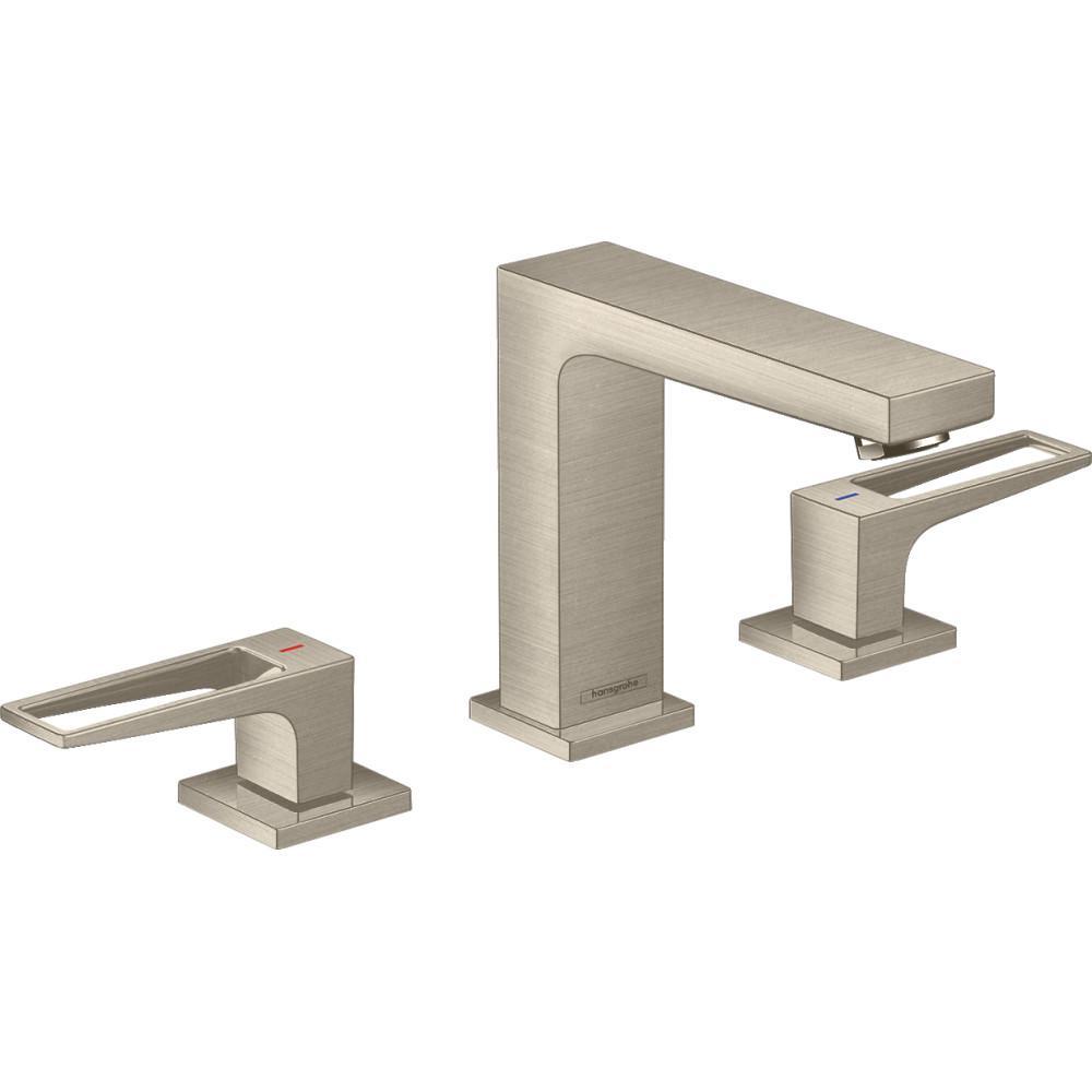 Metropol 8 in. Widespread 2-Handle Bathroom Faucet in Brushed Nickel