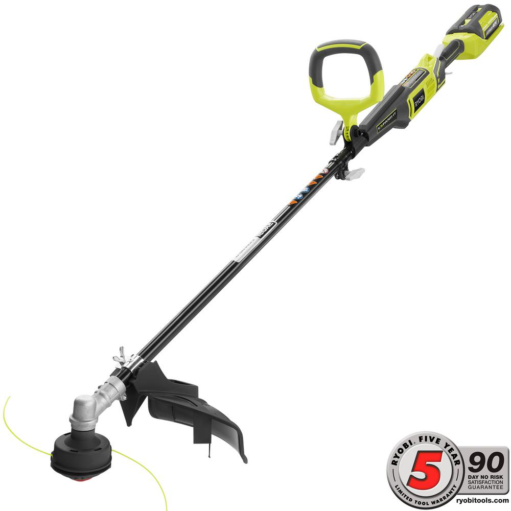 Ryobi 40-Volt Lithium-Ion Cordless Attachment Capable Str...