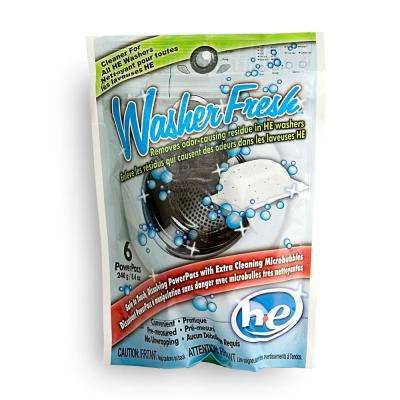 Cleaner for HE Washers (6-Pack)