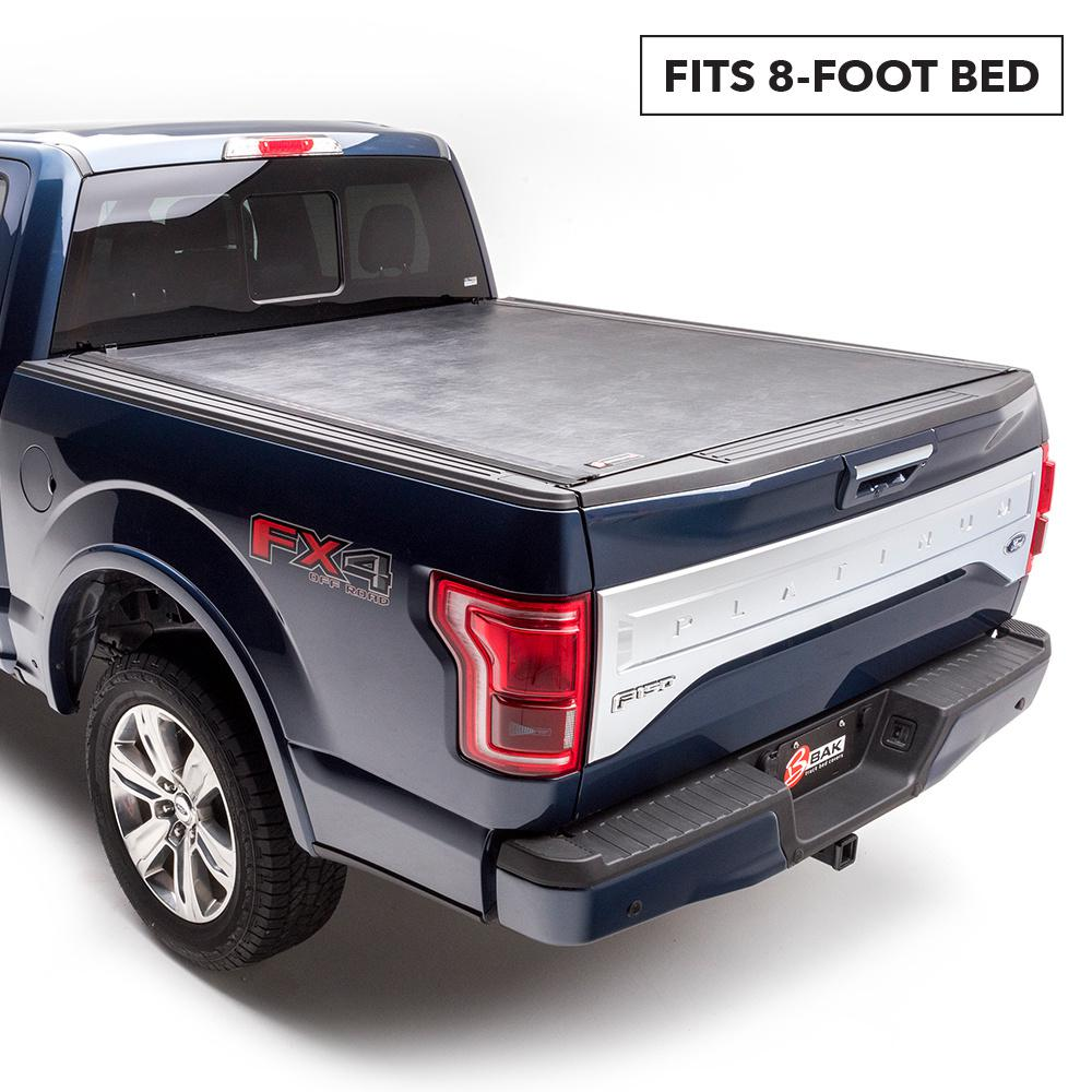 Bak Industries Revolver X2 Tonneau Cover For 15 19 F150 8 Ft Bed 39328 The Home Depot