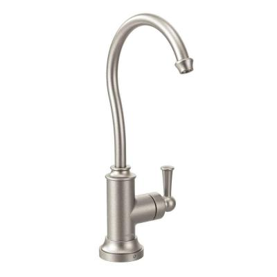 Sip Traditional Lever Drinking Fountain Faucet in Spot Resist Stainless