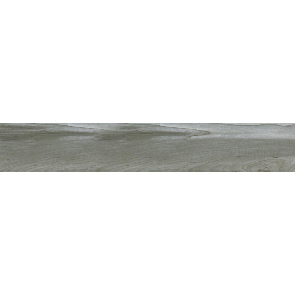Carolina Timber Grey 6 in. x 36 in. Glazed Ceramic Floor