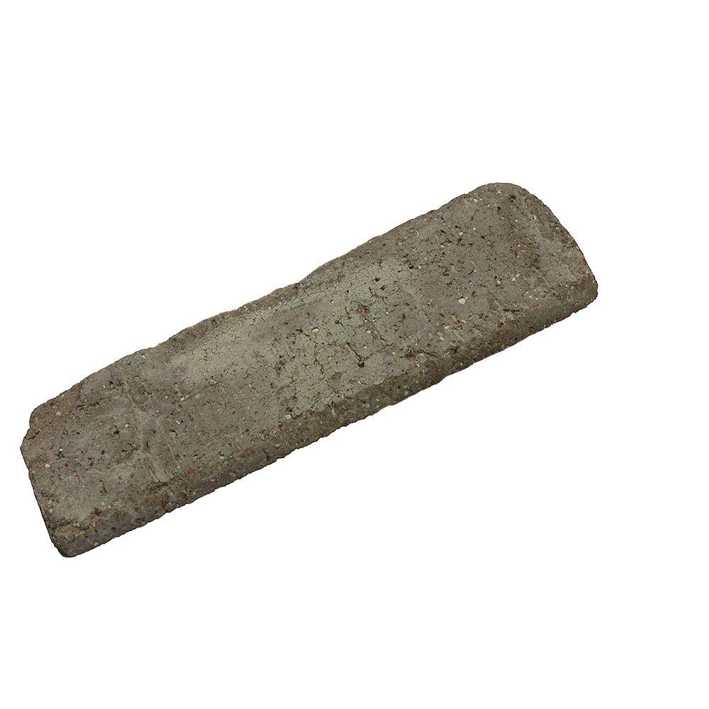 Old Mill Brick Sample Rushmore 0.5 in. x 7.625 in. x 2.25 in. Genuine Clay Thin Brick (3-Piece)