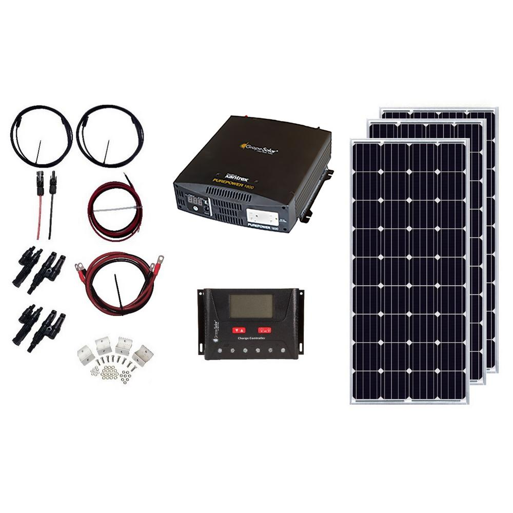540-Watt Off-Grid Solar Panel Kit