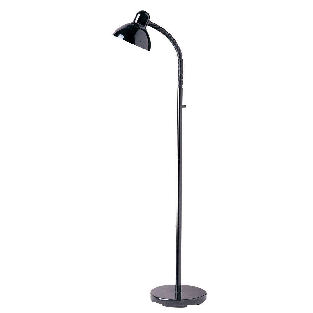 Catherine 54 in. Black Floor Lamp