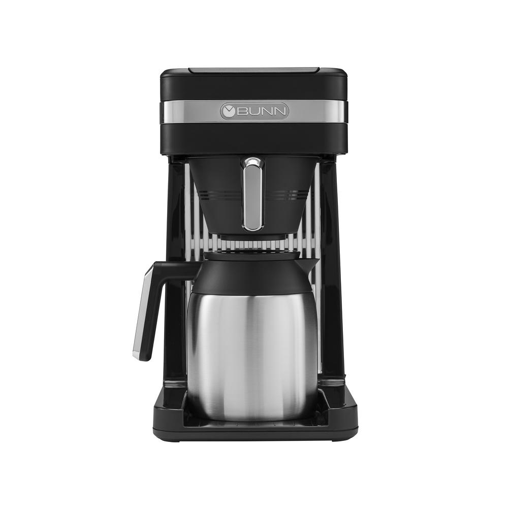 Bunn Speed Brew Platinum Black Thermal 10 Cup Coffee Maker