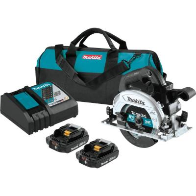 18-Volt 6-1/2 in. LXT Lithium-Ion Sub-Compact Brushless Cordless Circular Saw Kit (2.0 Ah)