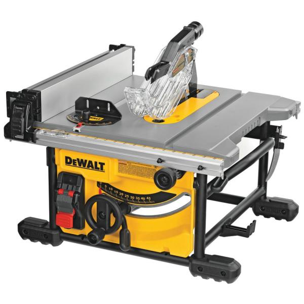 15 Amp Corded 8-1/4 in. Compact Jobsite Tablesaw