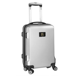 Deals on Denco NHL Vegas Golden Knights Silver 21 in. Spinner Suitcase