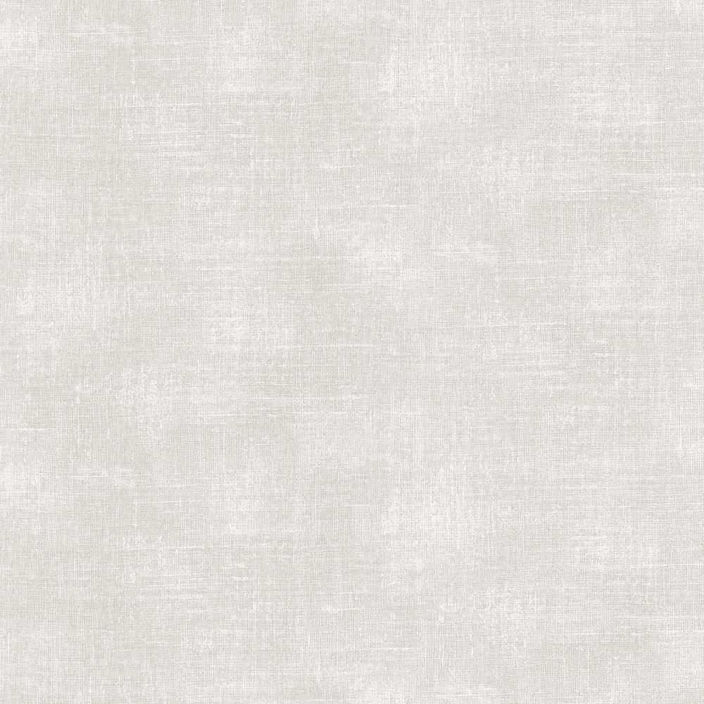 8 in. x 10 in. Sandia Light Grey Canvas Wallpaper Sample